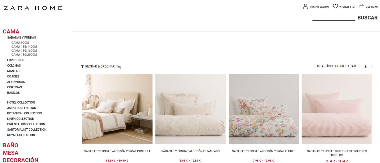 zara home online. Black Bedroom Furniture Sets. Home Design Ideas