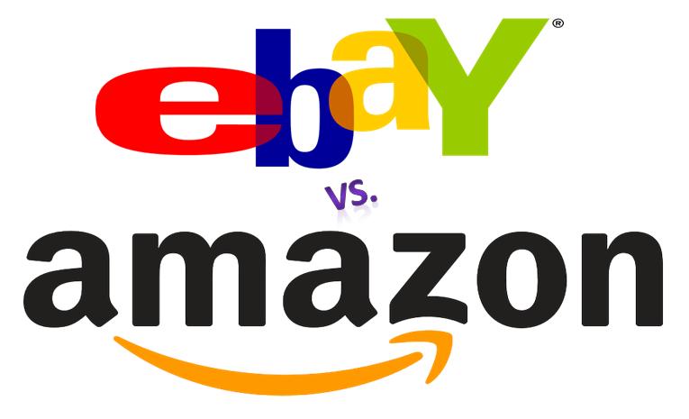 diferencias entre dos gigantes de las ventas online amazon y ebay infograf a. Black Bedroom Furniture Sets. Home Design Ideas